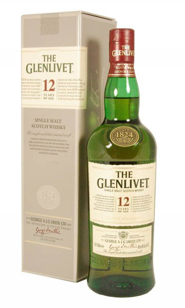GLENLIVET 12 YO 1LTR