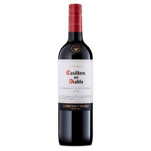 Casillero Del Diablo Cab Sauv Dry Red 750ml