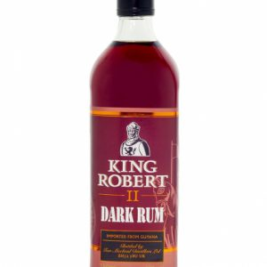King Robert II Dark Rum 750ml