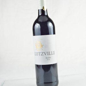 LUTZVILLE MERLOT DRY RED 750ML