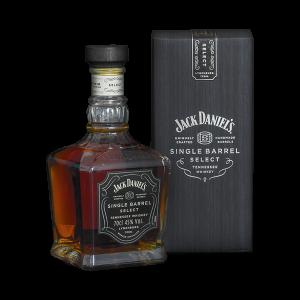 JACK DANIELS SINGLE BARREL SELECT 700ML (45)