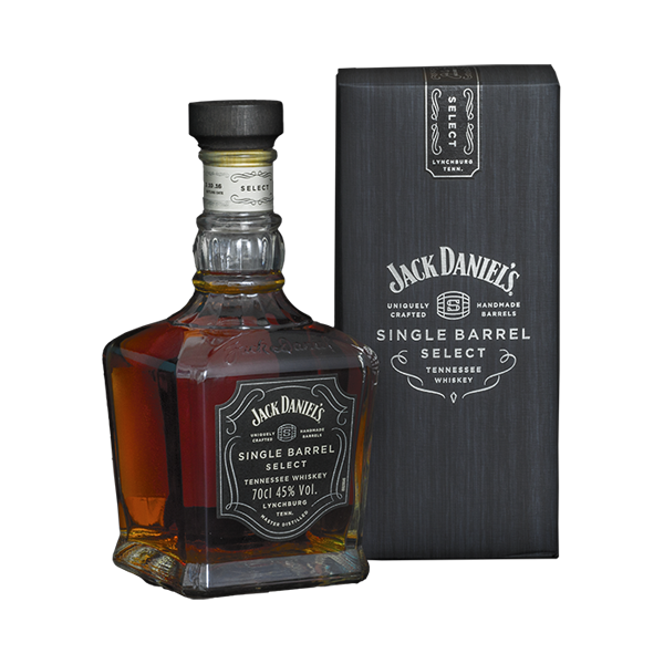 JACK DANIELS SINGLE BARREL SELECT 700ML (45)