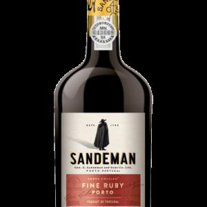 SANDEMAN FINE RUBY PORTO 750ML(19.5%)