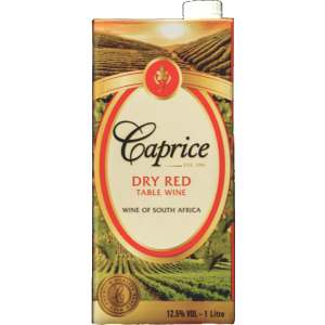 Buy Caprice Dry Red Tetra 1L online in Nairobi Kenya