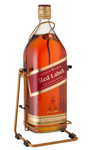 JOHNNIE WALKER RED 4.5LTR