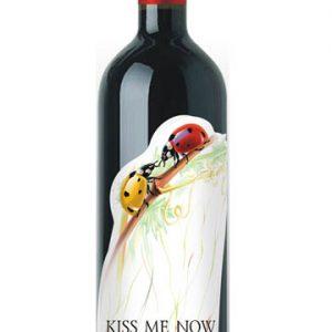 KISS ME NOW SEMI SWEET RED 750ML