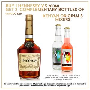 Buy Hennessy online in Nairobi Kenya with delivery
