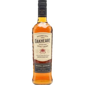 Bacardi Oakheart Spiced Rum 700ml