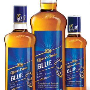 OFFICERS BLUE 750ML