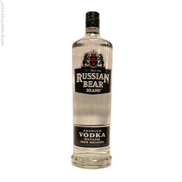 Buy Russian Bear Vodka 750ml online in Nairobi Kenya